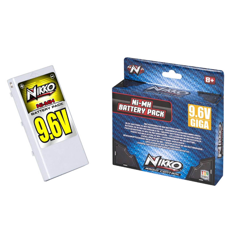 NIKKO Giga Pack Ni-MH 9,6 V batterij