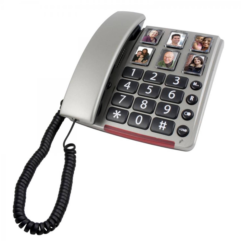 Fysic Senioren telefoon met fototoetsen FX-3360