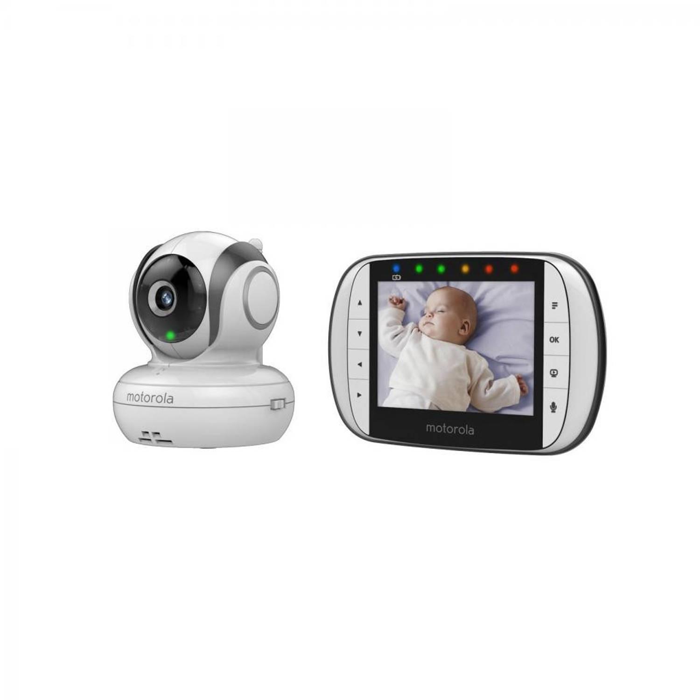 Motorola Digitale videobabyfoon met 8,9 cm (3,5) LCD MBP36S MBP36S Frequentie 2,4 GHz Bereik max. (i