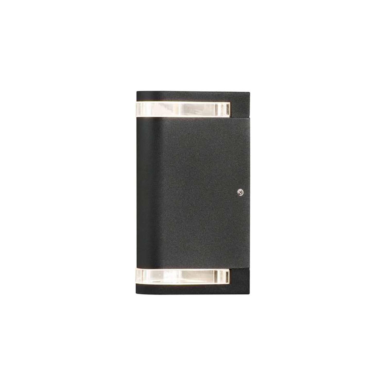 Konstsmide wandlamp Modena - zwart - 24 cm