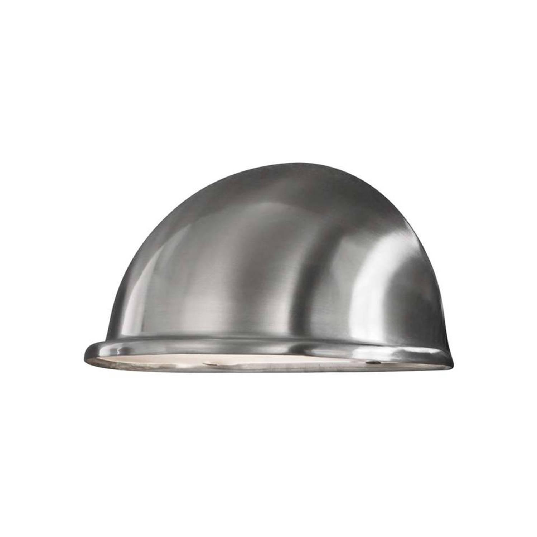 Konstsmide wandlamp Torino - RVS - 10 cm