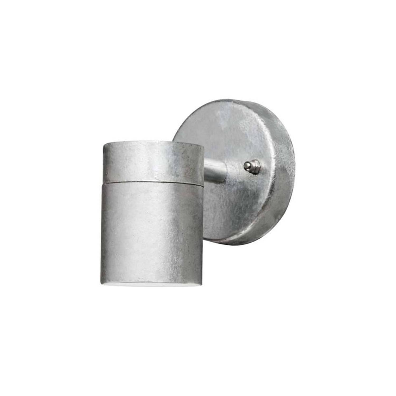 Konstsmide wandlamp Modena - staal - 9 cm