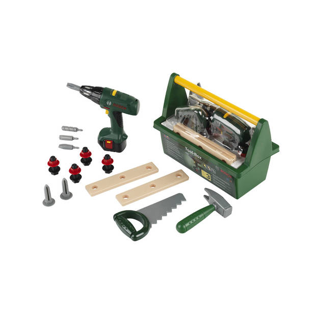 Bosch speelgoed mini gereedschapskist