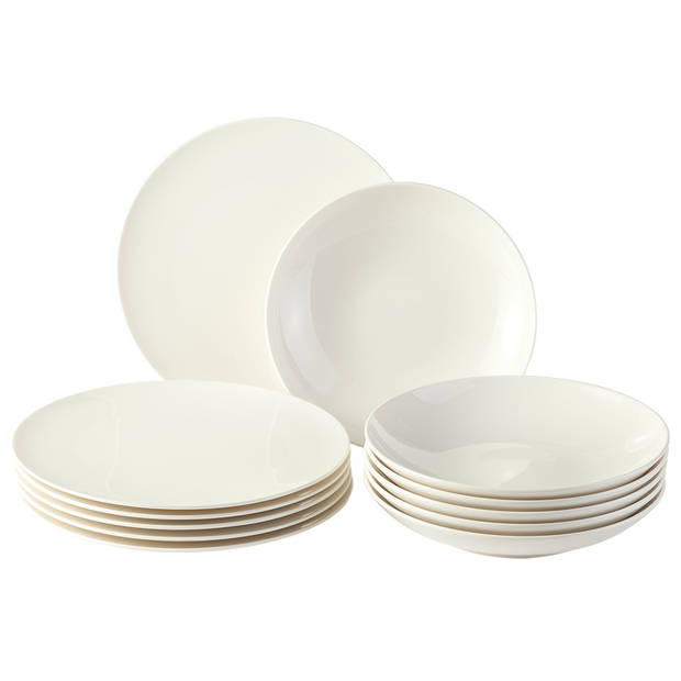 VIVO by Villeroy & Boch Group Voice Basic tafel serviesset - 12-delig - 6 persoons