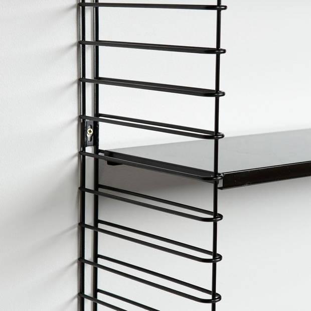 Tomado boekenrek - 70x21x68cm - zwart