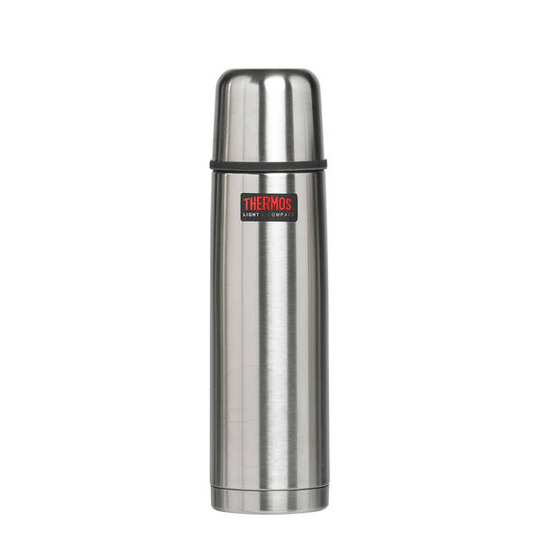 Thermos Light & Compact thermosfles - 0,75 l - zilverkleurig