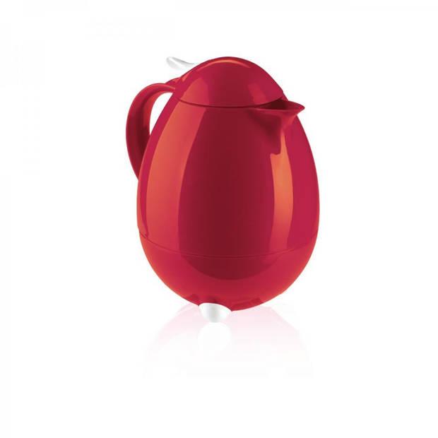 Leifheit Columbus thermosfles - rood - 1 liter