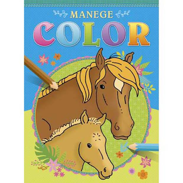 Manege Color kleurboek