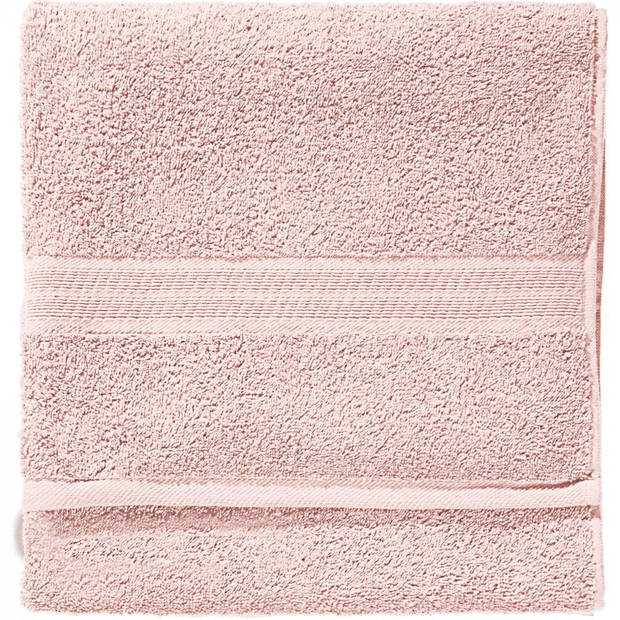 Blokker handdoek 500g - lichtroze - 110x60 cm