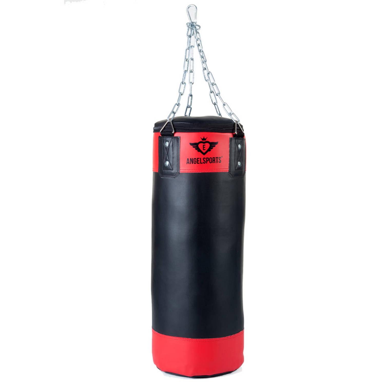 Afbeelding van Angel Sports bokszak - 60 cm - rood/zwart