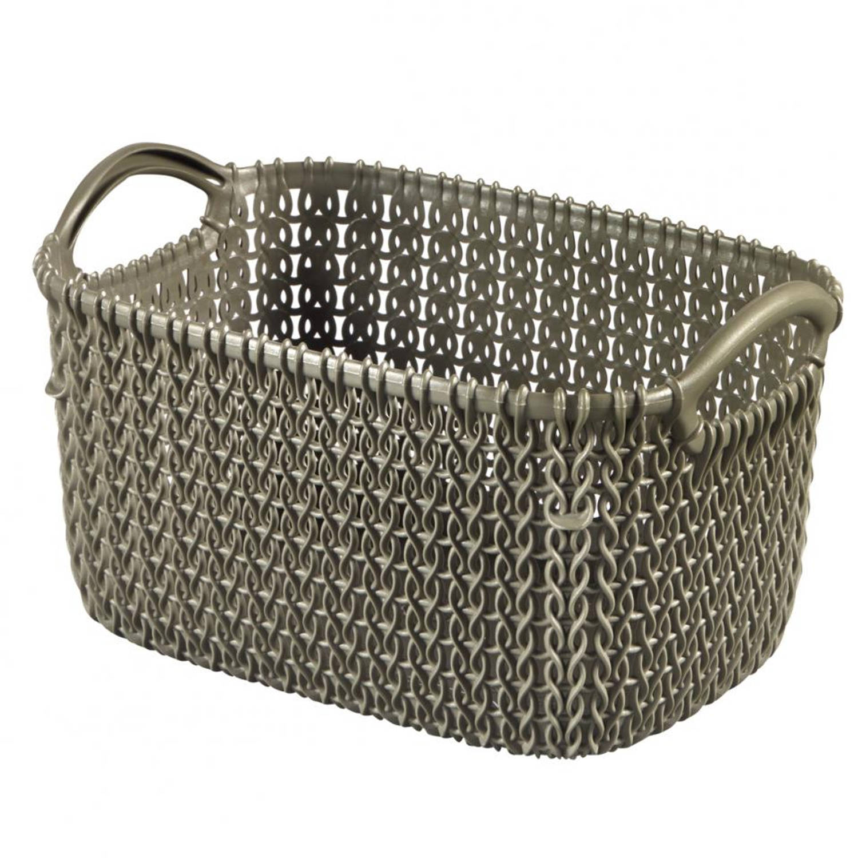 Curver Knit Rect XS V2 - bruin