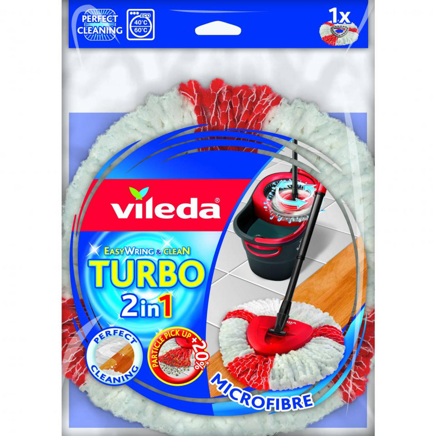 Vileda Easy Wring & Clean TURBO vervanging