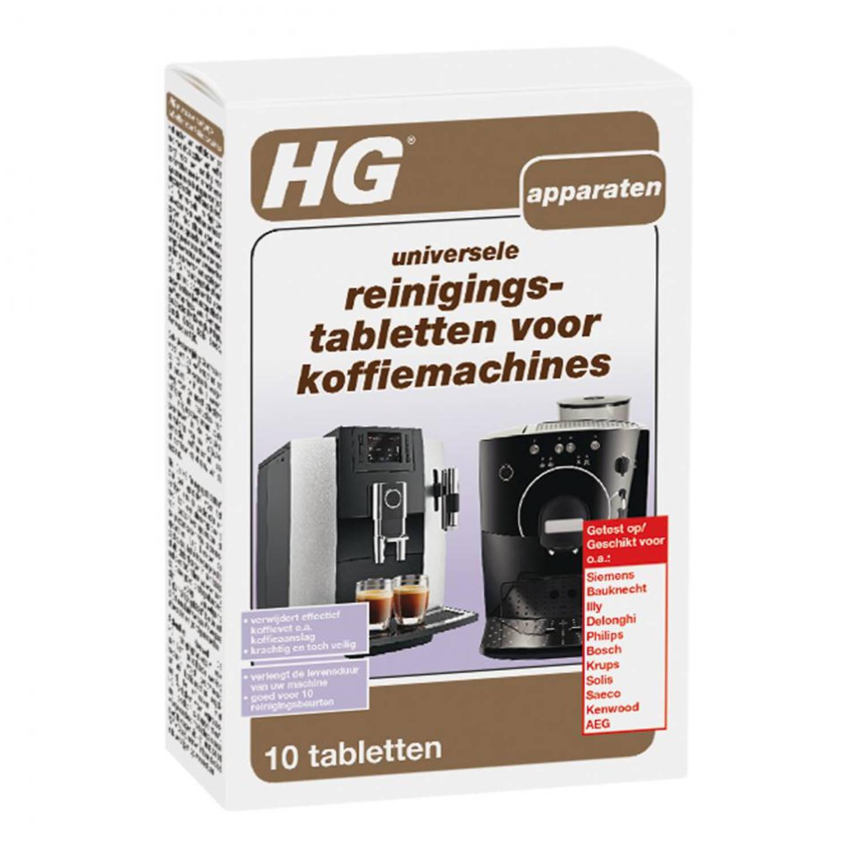 HG koffiemachine reinigingstabletten