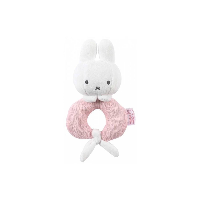 Nijntje rammelaar roze 23 x 15 cm