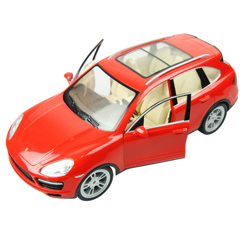 Afbeelding van Op afstand bestuurbare auto Racetin Porsche Cayenne 1:16