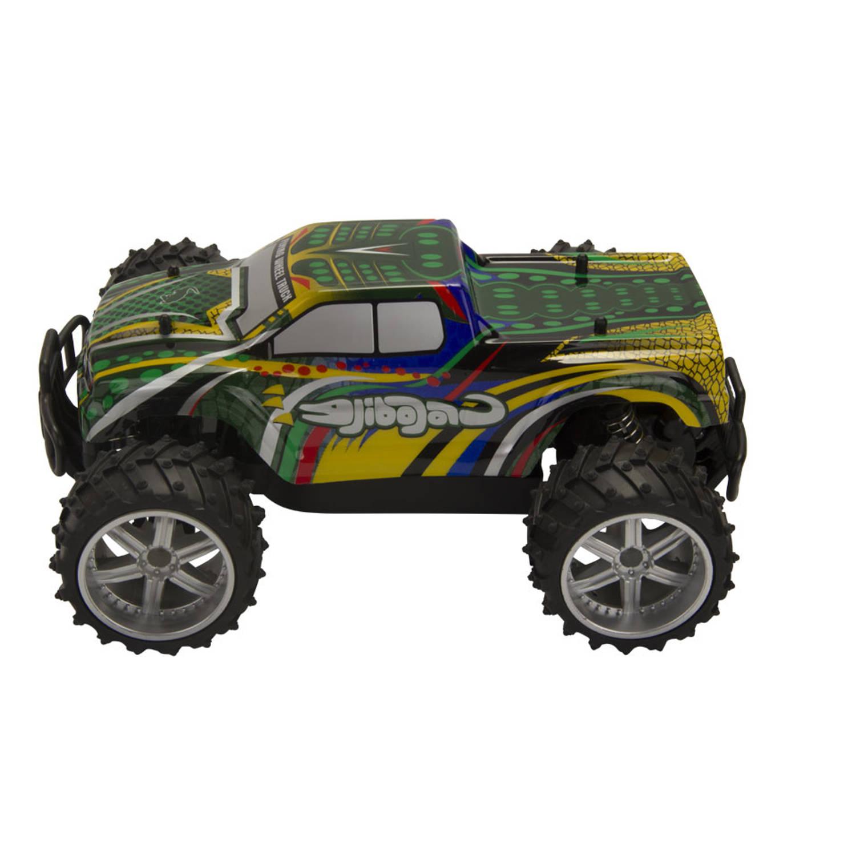 Afbeelding van Op afstand bestuurbare auto Thomaxx Truggy Crocodile 1:16