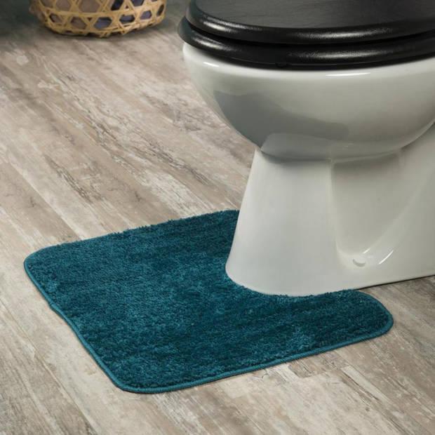 Sealskin toiletmat Doux - Polyester - 45 x 50 cm - Petrol