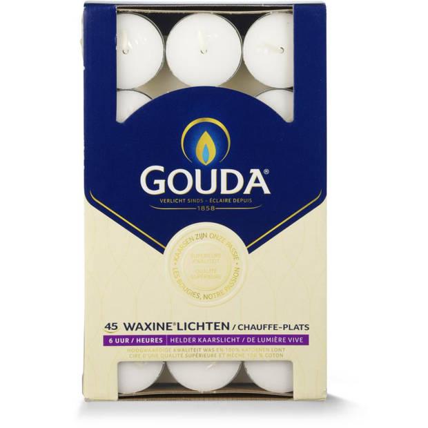Gouda waxinelichten - 45 stuks