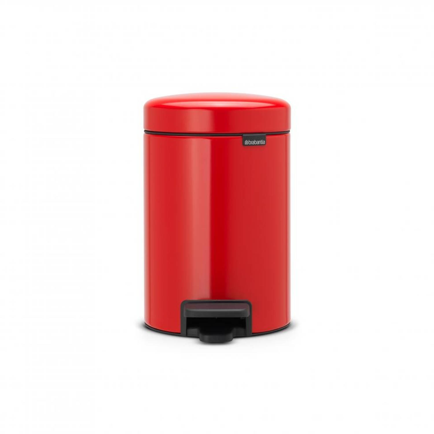 Brabantia newIcon pedaalemmer 3 l - Passion Red