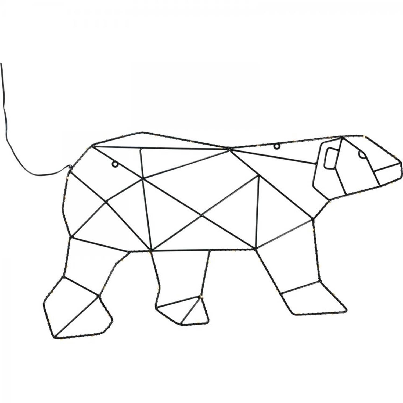 Ijsbeer met verlichting | Blokker