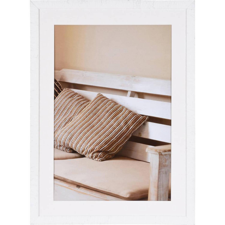 Henzo Driftwood Fotolijst - 50 x 70 cm - wit