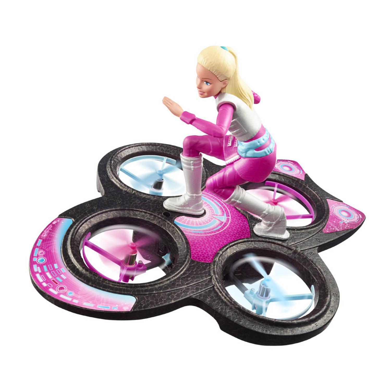 Barbie bestuurbare drone Hoverboard met pop 33 cm