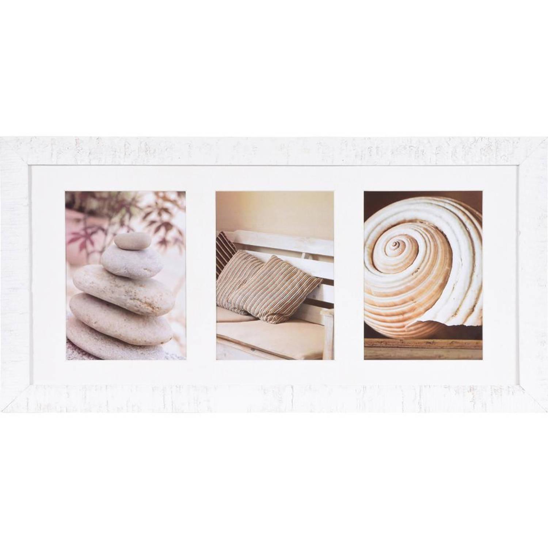 Henzo Driftwood Fotolijst - 3 x 13 x 18 cm - wit