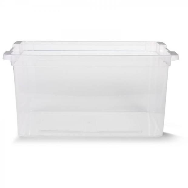 Blokker box - 15 L - transparant