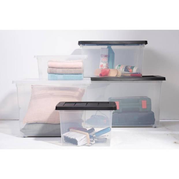 Blokker box - 45 L - transparant
