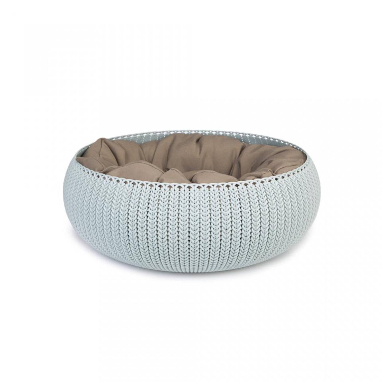 Curver Cozy pet bed - lichtblauw - 50 cm