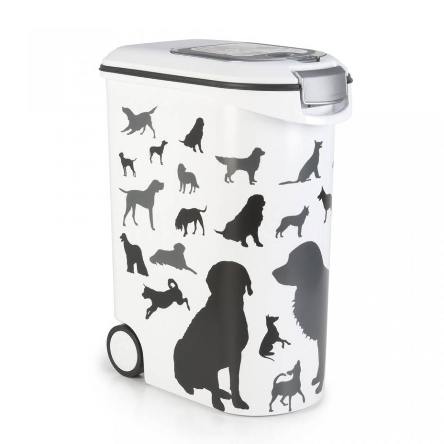 Curver voedselcontainer Silhouette hond - 54 l