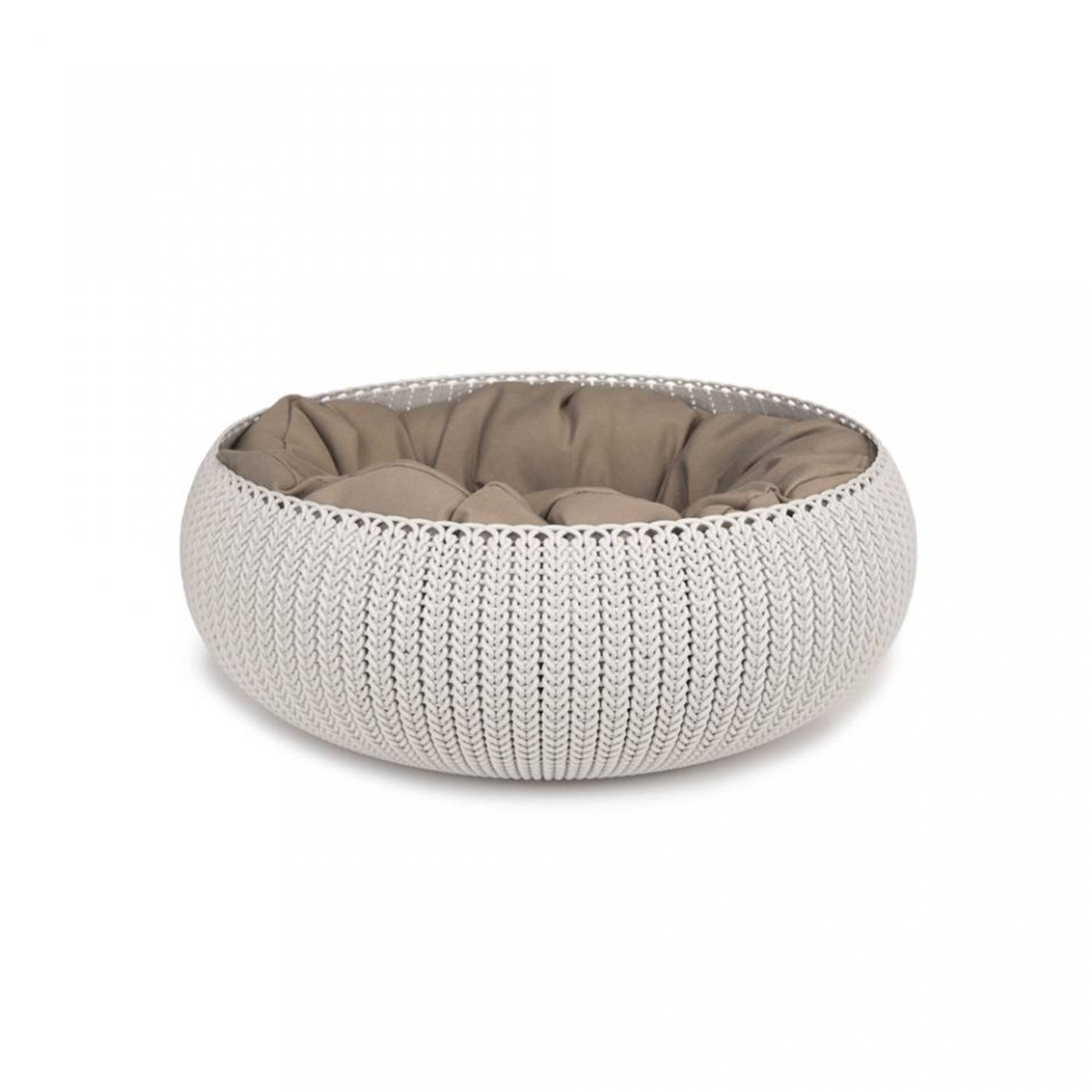 Curver Cozy pet bed - crème - 50 cm