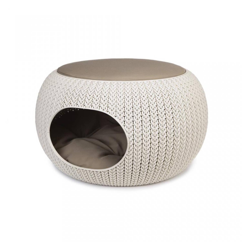 Curver Cozy pet home - crème - 55 cm