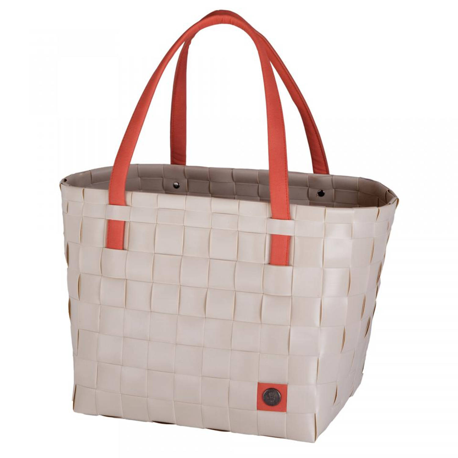 Handed By Color Block shopper - zand