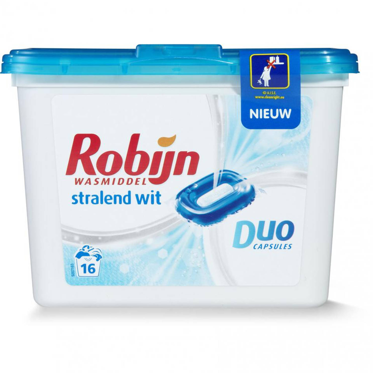 Robijn Stralend Wit duo capsules