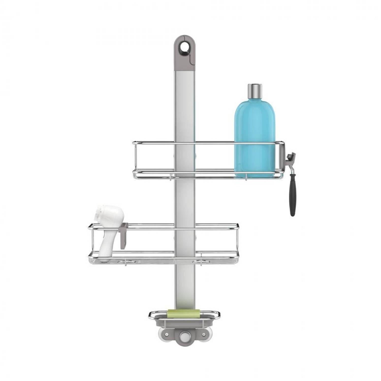 Simplehuman badkamerrek - RVS - zilverkleurig   Blokker
