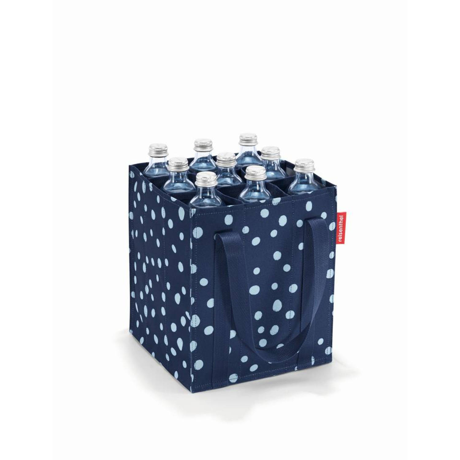 Reisenthel bottlebag Spots - Navy - 9 liter