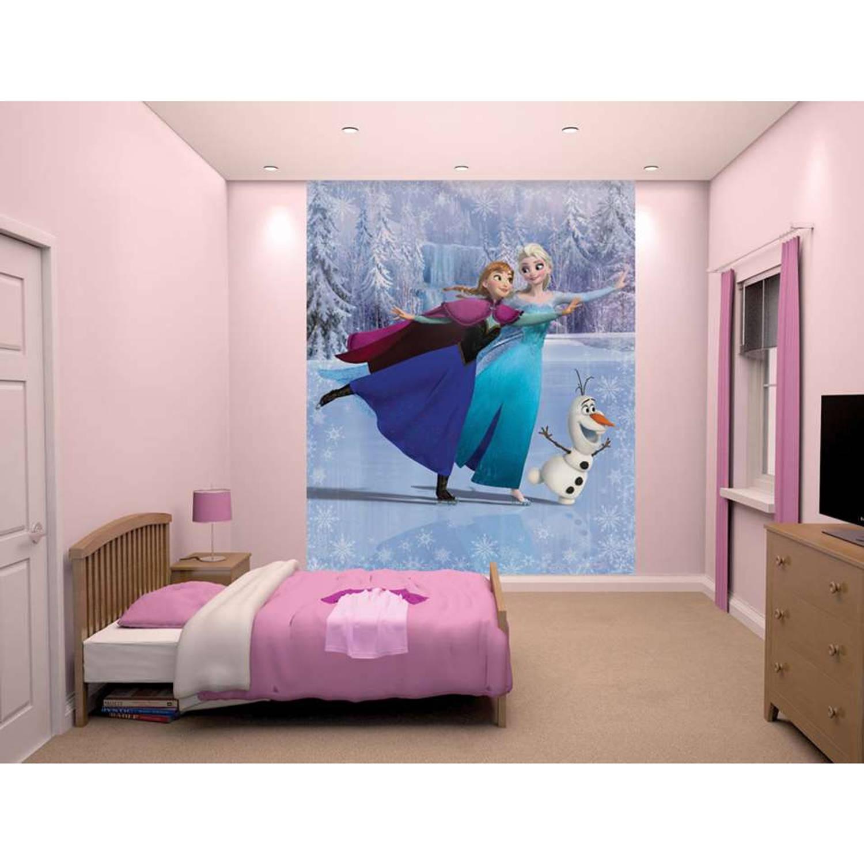 Disney Frozen Dancing behang - 8 delen