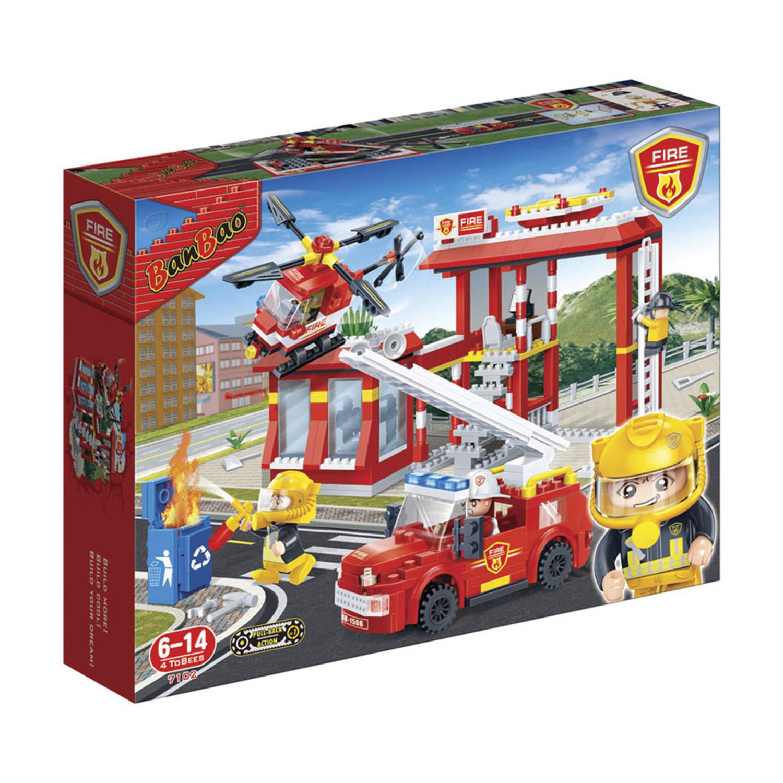 Afbeelding van BanBao brandweer garage 7102