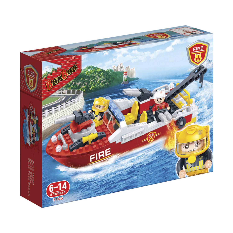 Afbeelding van BanBao brandweerboot 7105