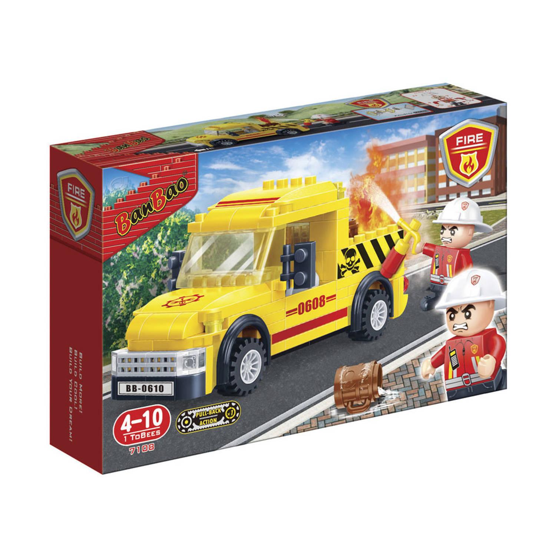 Afbeelding van BanBao brandweer gevarentransport 7108