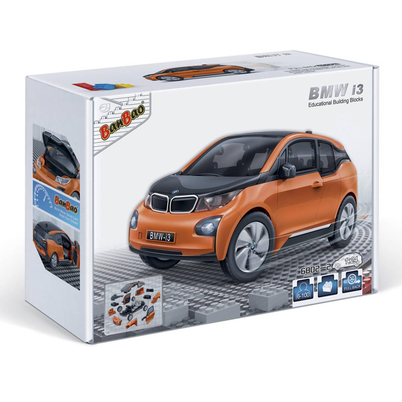 Afbeelding van BanBao BMW i3 orange 6802-2