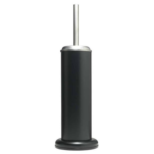 Sealskin toiletborstelhouder Acero - Roestvrij staal - Zwart