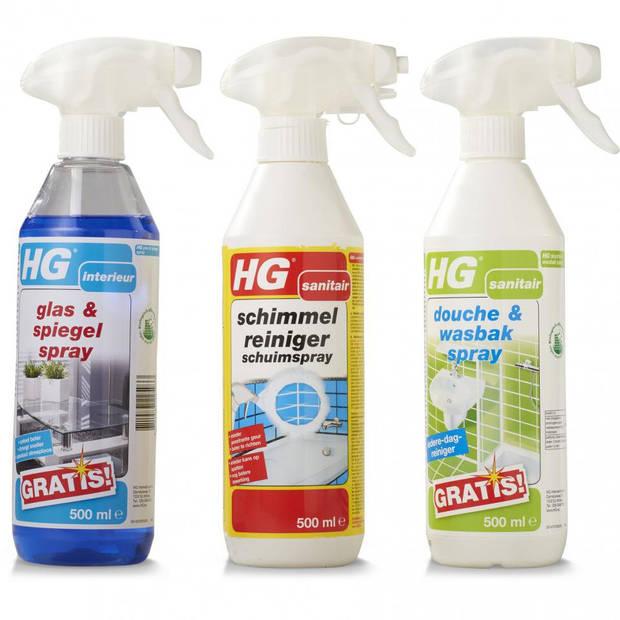 HG badkamerpakket - 3-delig