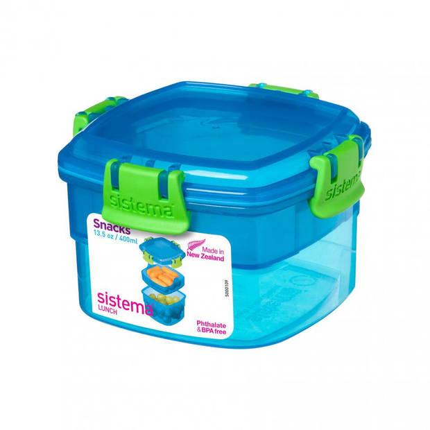 Sistema lunchbox - blauw