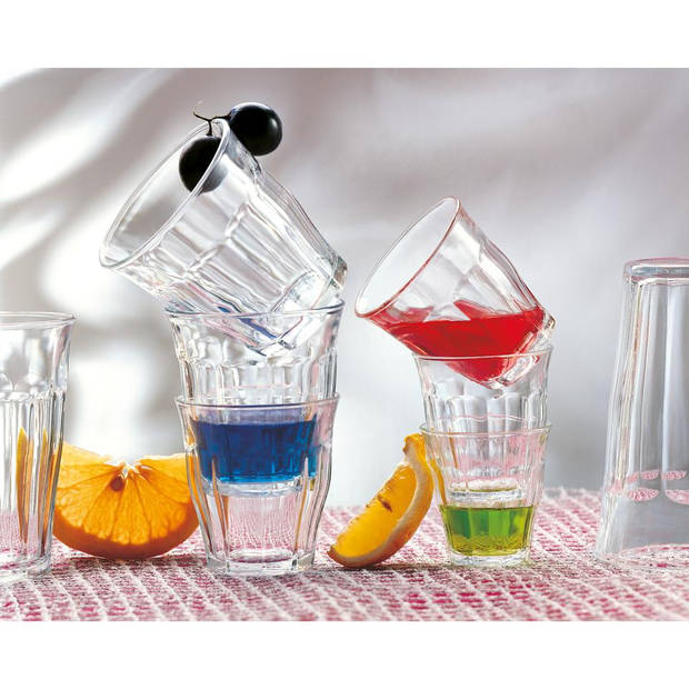 Duralex Picardie tumbler glazen - 31 cl - 6 stuks