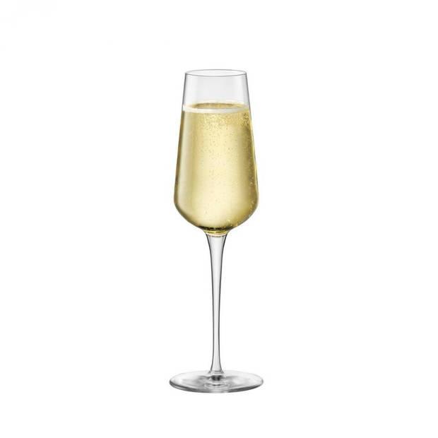 Bormioli Rocco Inalto Uno champagneflûte - 28 cl - 6 stuks