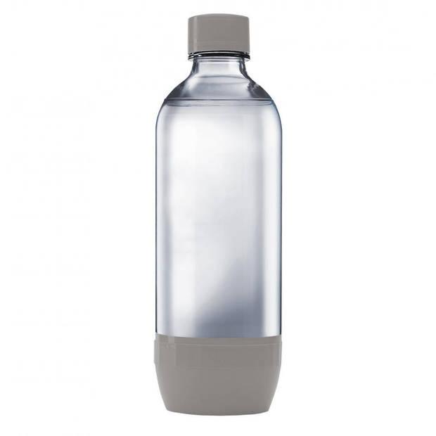 SodaStream Regular literflessen - grijs - 2 stuks