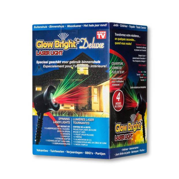 JML Glow Bright Deluxe Laser Light