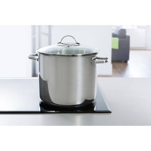 BK soeppan - met glasdeksel - ø 26 cm - 11 liter